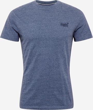 T-Shirt Superdry en bleu
