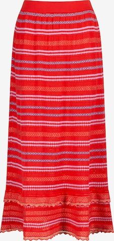 Nicowa Skirt 'SANAWO' in Red