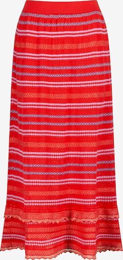 Nicowa Rock 'SANAWO' in grau / lila / rot, Produktansicht
