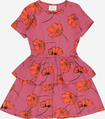The New Kleid 'TRACY' in oliv / orange / pitaya, Produktansicht