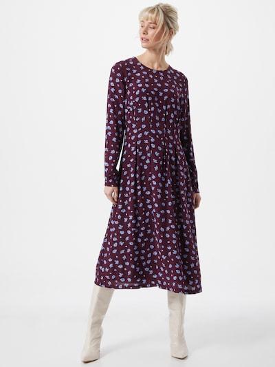 EDC BY ESPRIT Kleid in hellblau / aubergine, Modelansicht