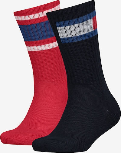 TOMMY HILFIGER Socken in blutrot / schwarz, Produktansicht