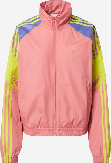 ADIDAS ORIGINALS Jacke in royalblau / gelb / rosa, Produktansicht