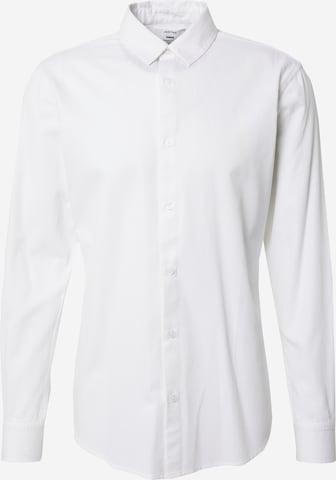 DAN FOX APPAREL Hemd 'Paul' in Weiß