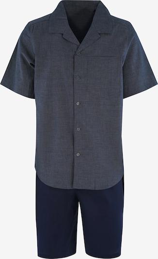 SEIDENSTICKER Pyjama kurz in nachtblau, Produktansicht