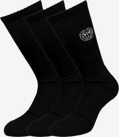 BIDI BADU Socken 3er Pack im klassischen Stil in schwarz, Produktansicht
