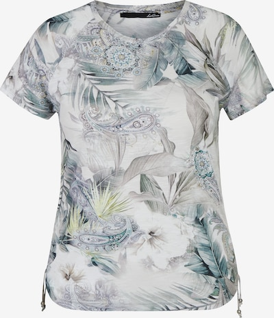 Lecomte Shirt in grau / grün, Produktansicht