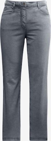 Ulla Popken Jeans in Grey