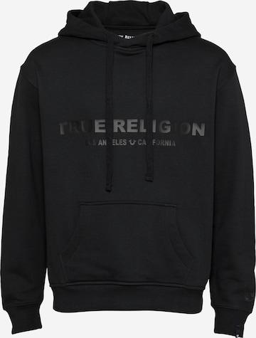 True Religion Sweatshirt in Schwarz