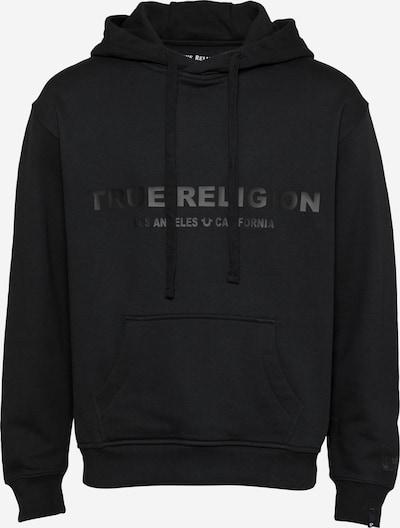 True Religion Sweatshirt in schwarz, Produktansicht