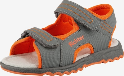 myToys-COLLECTION Sandale in grau / orange, Produktansicht