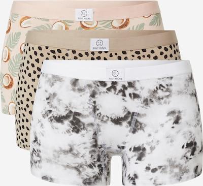 Gilly Hicks Panty in dunkelbeige / mischfarben / puder / weiß, Produktansicht