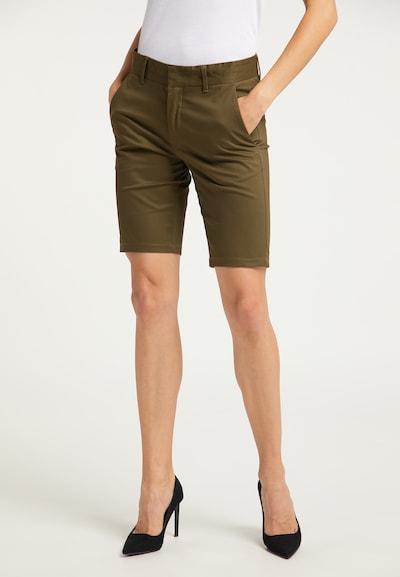 DreiMaster Klassik Shorts in oliv, Modelansicht