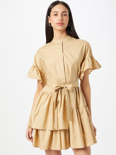 Twinset Kleid in sand, Modelansicht