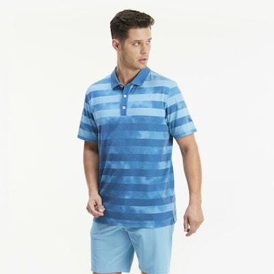 PUMA T-Shirt fonctionnel en bleu: Vue de face