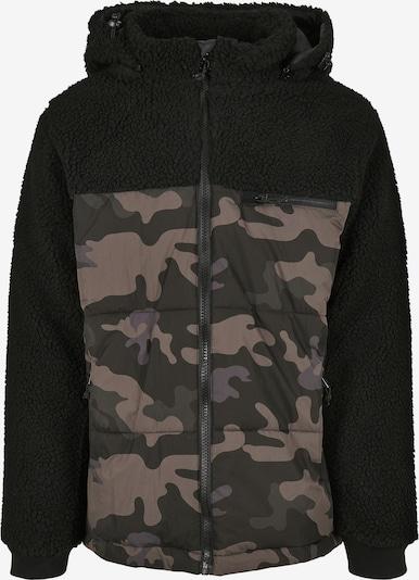 Brandit Jacke 'Jackson' in hellbraun / dunkelgrau / schwarz, Produktansicht