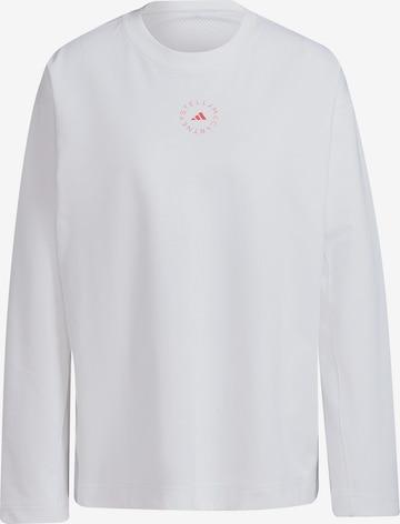 adidas by Stella McCartney Funksjonsskjorte i hvit