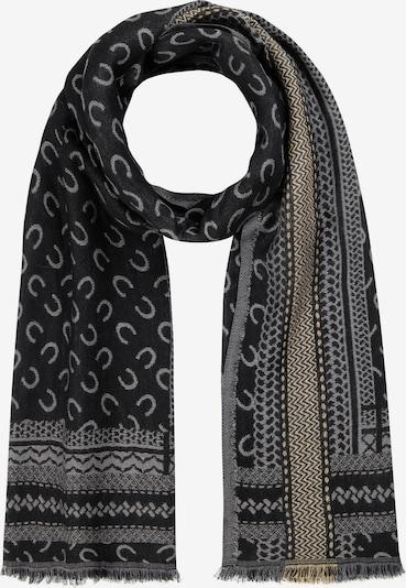 CODELLO Scarf in Grey / Black, Item view