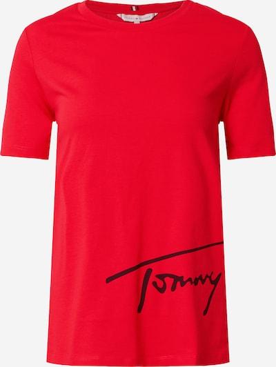 TOMMY HILFIGER Skjorte i rød / sort: Frontvisning