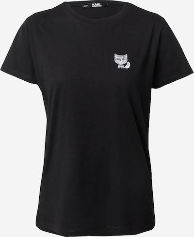 Karl Lagerfeld Majica | črna barva, Prikaz izdelka