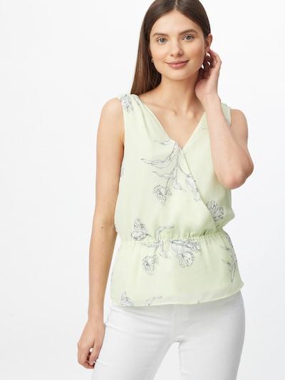 Banana Republic Bluse in dunkelblau / pastellgrün, Modelansicht