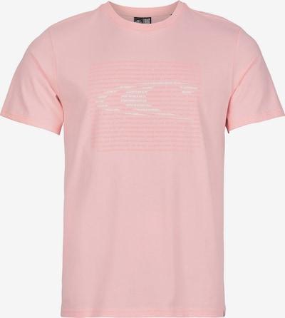 O'NEILL T-Shirt 'Abstract Wave' in rosa / hellpink / weiß, Produktansicht