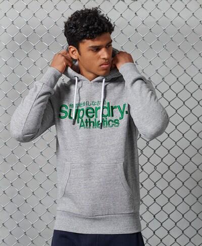 Superdry Sweatshirt in de kleur Lichtgrijs: Vooraanzicht