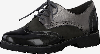 JANA Lace-Up Shoes in Silver grey / Black, Item view
