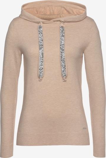 LAURA SCOTT Pullover in beige / silber, Produktansicht
