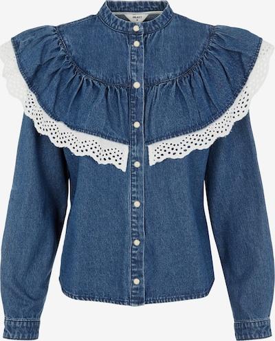 Bluză OBJECT pe albastru / alb, Vizualizare produs