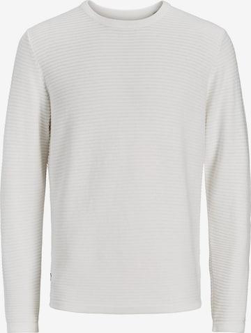 JACK & JONES Sweter w kolorze biały