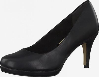 TAMARIS Čevlji s peto | črna barva, Prikaz izdelka