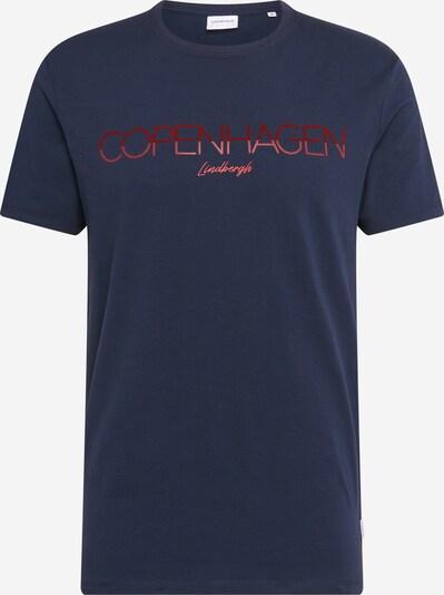 Lindbergh T-Shirt en bleu foncé, Vue avec produit