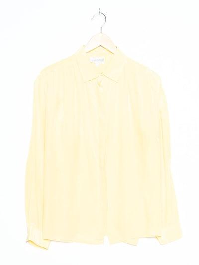 Peter Hahn Bluse in XXL in gelb, Produktansicht