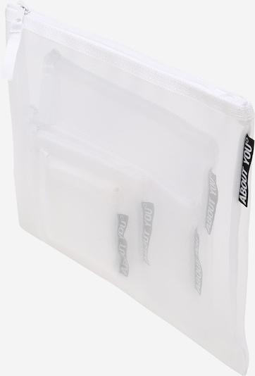 ABOUT YOU Nessessäär 'Mesh-Bag Set' valge, Tootevaade