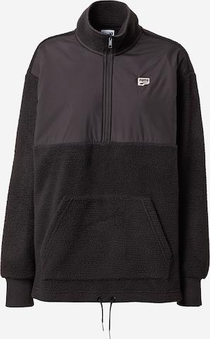 PUMA Sweatshirt 'PUMAxABOUT YOU' in Schwarz