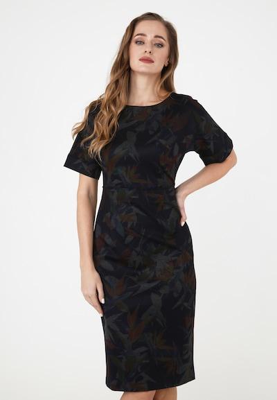 Madam-T Etuikleid 'Altea' in mischfarben, Modelansicht