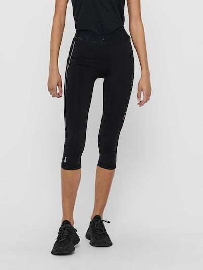 ONLY PLAY Sporthose in grau / schwarz, Modelansicht