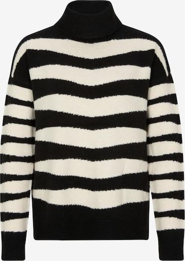Ci comma casual identity Pullover in beige / schwarz, Produktansicht