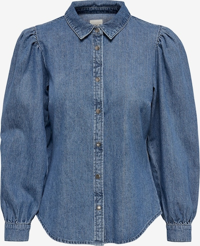 ONLY Bluse 'Rocco' in de kleur Blauw denim, Productweergave