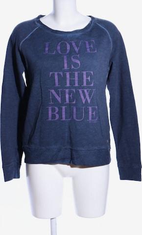 MUSTANG Sweatshirt & Zip-Up Hoodie in S in Blue
