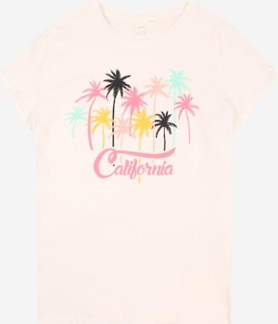 Guppy T-Shirt 'JULIA' en mélange de couleurs / blanc, Vue avec produit