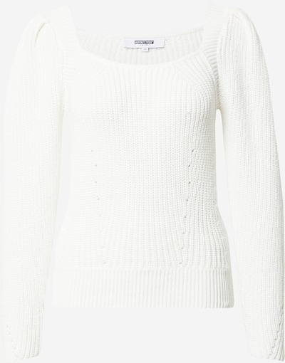 ABOUT YOU Limited Pull-over 'Lajana' en blanc cassé, Vue avec produit