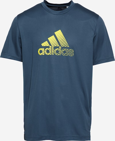 ADIDAS PERFORMANCE Funkčné tričko - tmavomodrá / žltá, Produkt