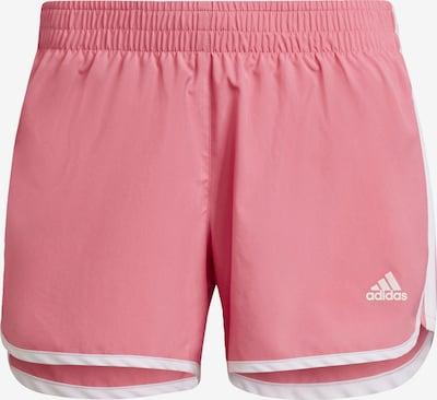 ADIDAS PERFORMANCE Shorts 'Marathon 20' in rosa / weiß, Produktansicht