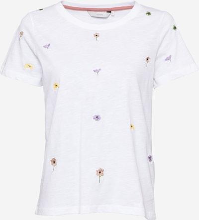 NÜMPH Shirt 'Nucarol ' in de kleur Gemengde kleuren / Wit, Productweergave