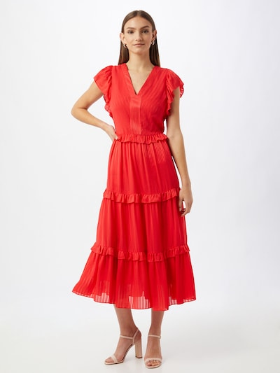 Ted Baker Kleid 'Tiliana' in orangerot, Modelansicht