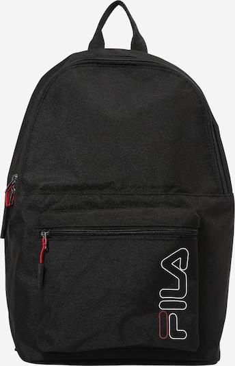 FILA Sac à dos en rouge / noir / blanc, Vue avec produit