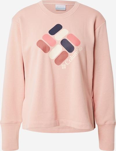 COLUMBIA Sweatshirt in Navy / Pink / Dusky pink / Light pink / natural white, Item view