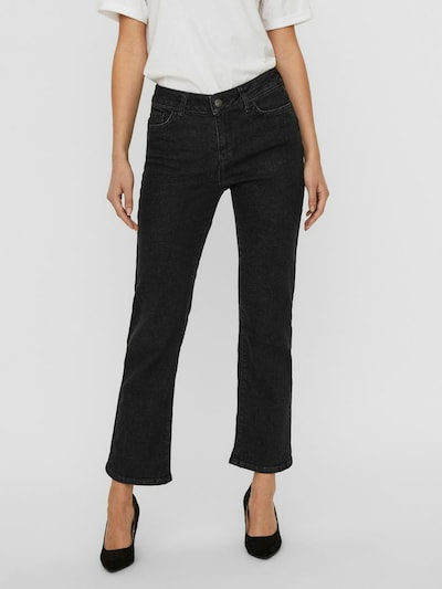 VERO MODA Jeans 'Sheila' in black denim, Modelansicht